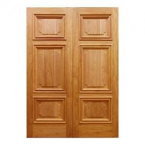 Cửa gỗ tự nhiên sang trọng dùng cho biệt thự