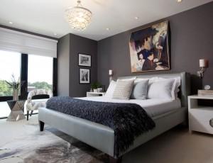 Phòng ngủ master hiện đại sang trọng