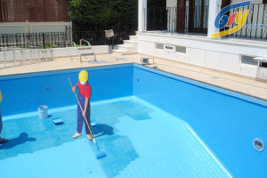 Sơn chống thấm bể bơi