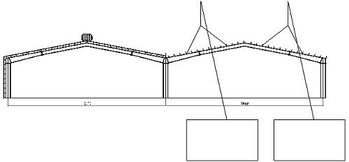 Thi công tháo xà gồ và cột của nhà xưởng