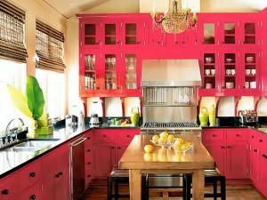 6 màu sắc rực rỡ dành cho nhà bếp