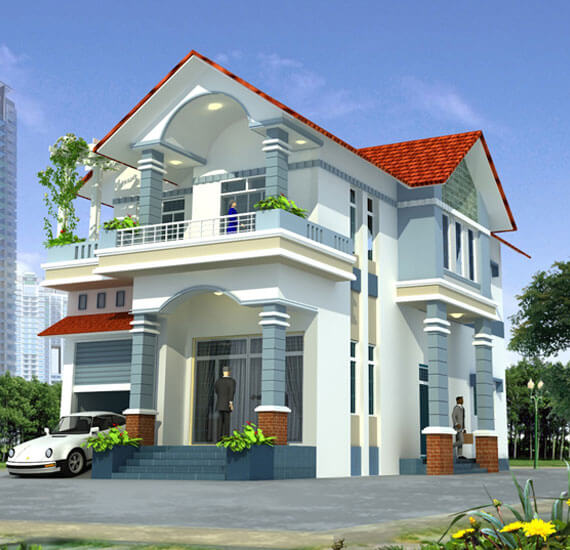 thợ sơn nhà đẹp tư vẫn cách chọn màu sơn nhà đẹp