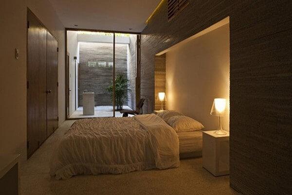 Phòng ngủ nhà ống chật hẹp trước khi sửa lại