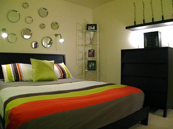 Phòng ngủ phòng ngủ nhà ống chật hẹp trước khi sửa lại