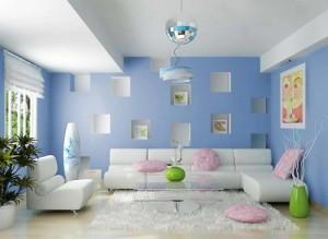 chọn màu sơn nội thất thông minh