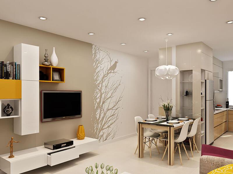 Dịch vụ sơn nhà chung cư