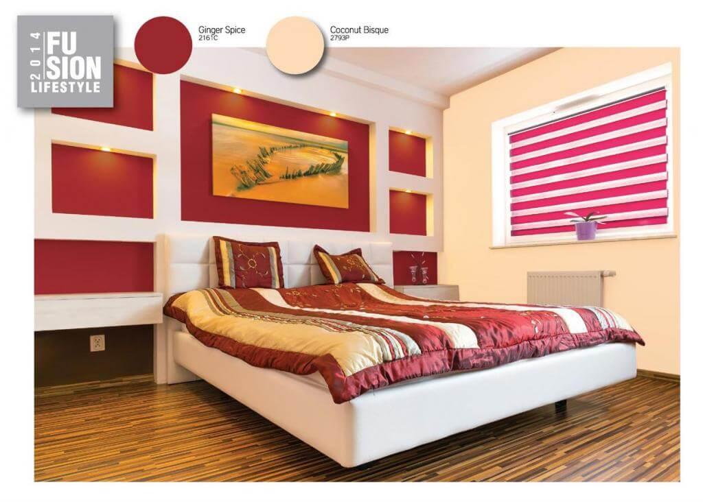Cách xử dụng màu sắc hợp nhất sơn nhà đẹp