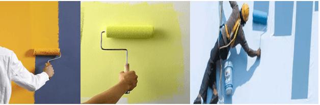 sơn lót được sản xuất cho những ứng dụng riêng biệt trong và ngoài nhà