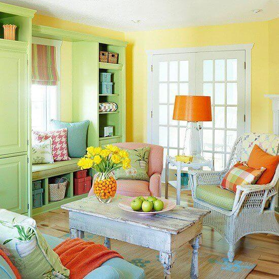 Mẹo lựa chọn màu sơn hợp với ngôi nhà với những màu sắc kết hợp vui nhộn