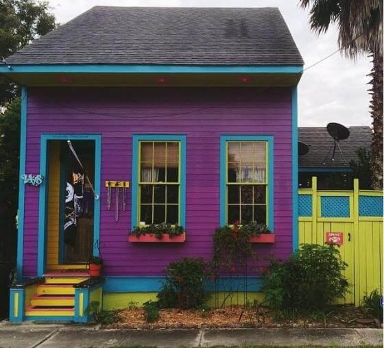 Dịch vụ sơn ngoại thất với màu sơn đẹp cho mặt tiền nhà