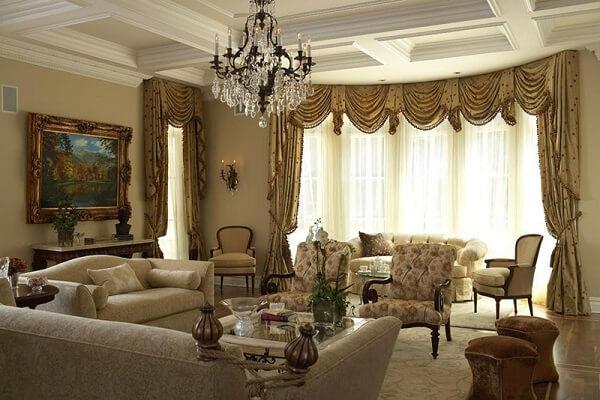 Phòng khách biệt thự giản dị nói lên được cá tính riêng của người chủ