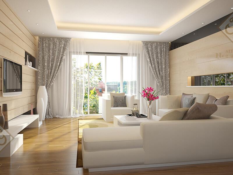 Sơn nhà chung cư với mầu sắc trang nhã sang trọng