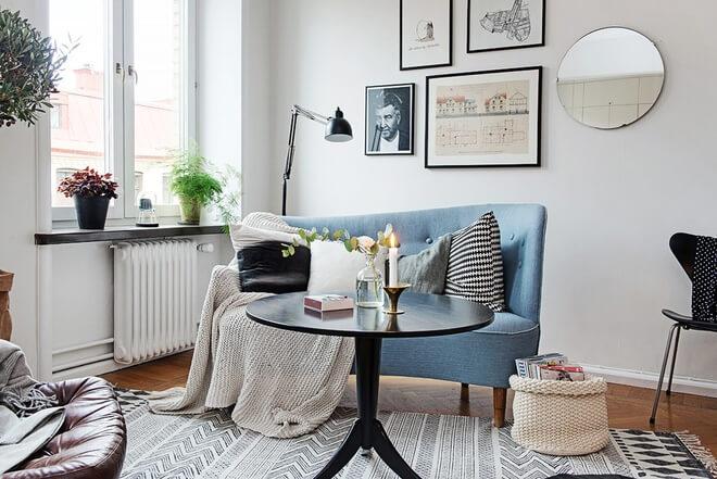 Sơn nhà với gam màu trắng - xám tạo cảm giác rộng sáng, thanh lịch sau cải tạo căn hộ chung cư.