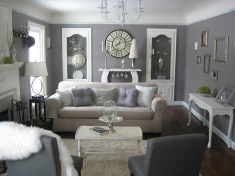 Sơn nhà đẹp vớ màu xám có thể kết hợp với những gam màu sôi động hoặc trung tính khác.