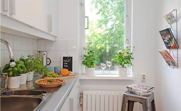 Căn hộ với mỗi phần không gian đều rất nhỏ nhưng vẫn khoa học và tiện sử dụng, sau khi cải tạo căn hộ.