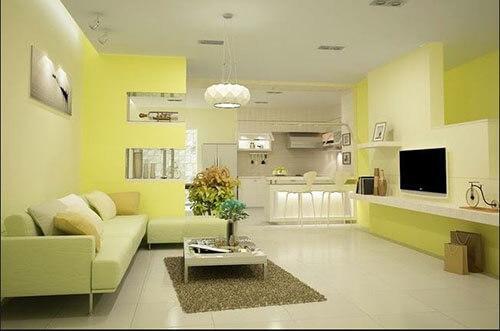 Lựa chọn màu sơn nhà, bạn nên tìm hiểu kết cấu các màu bằng bánh xe màu sắc.