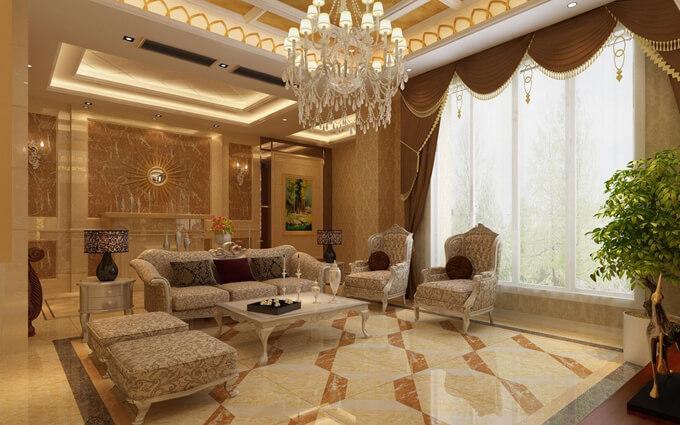 Đèn chùm pha lê với thiết kế nội thất phòng khách giúp cải thiện các mối quan hệ.