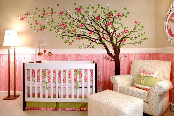 Thiết kế nhà ống 4 tầng với không gian phòng ngủ các bé gam màu dịu nhẹ đầy nữ tính