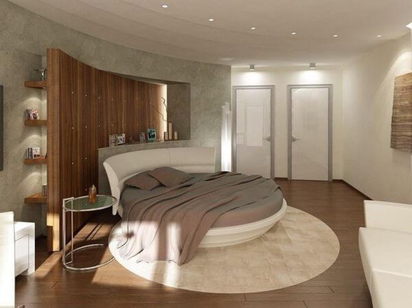 Phòng ngủ hợp phong thủy với tông màu trung tính, giường ngủ và các đồ vật trong phòng ngủ nên có cùng tông màu.