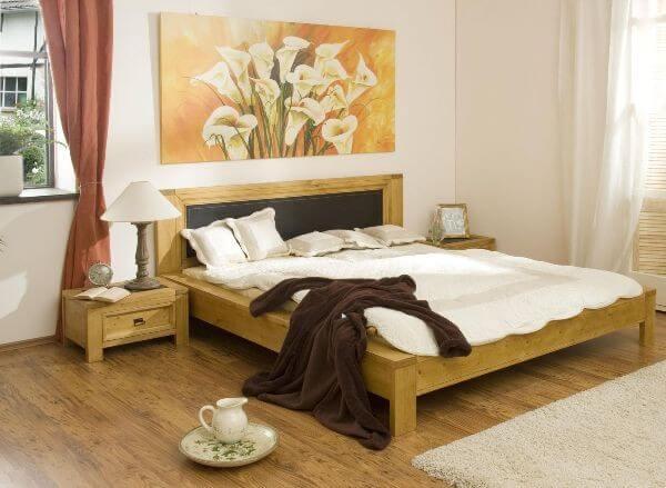 Phòng ngủ hợp phong thủy với những tông màu ấm áp.