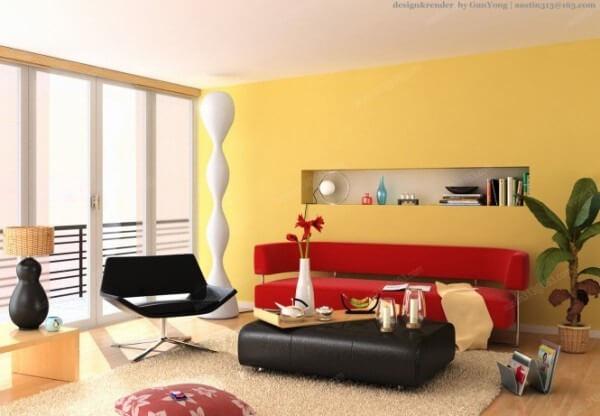 Thiết kế nội thất nhà này không chỉ ấm áp mà còn có cả sự ngọt ngào của mùa hè.
