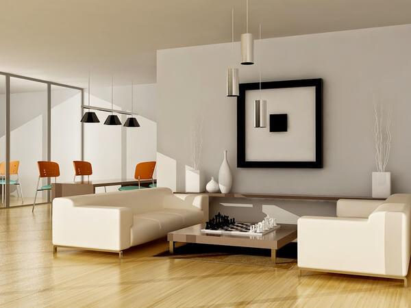 Thiết kế nhà cấp 4, với phòng khách, ngập tràn ánh sáng tự nhiên.