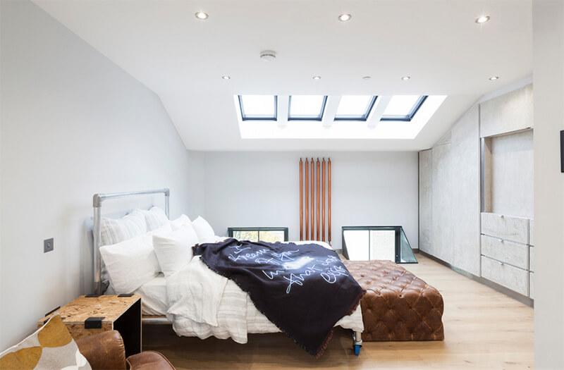 Thiết kế phòng ngủ đẹp với gam mầu sáng
