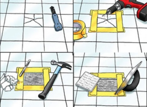 Mẹo hay sửa chữa nhà khi nền nhà của bạn bị hư