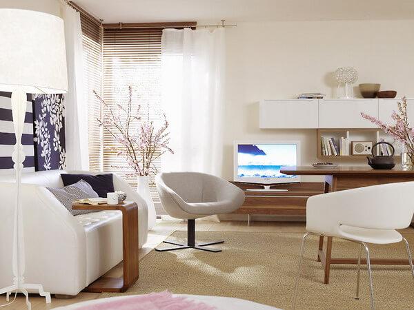 Những lợi ích của sơn tường nhà màu trắng-giúp mở rộng không gian