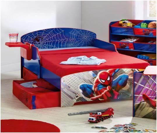 phòng ngủ đẹp cho bé trai các tính mạnh thích làm siêu nhân