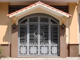 Mẫu sơn cửa sắt đẹp
