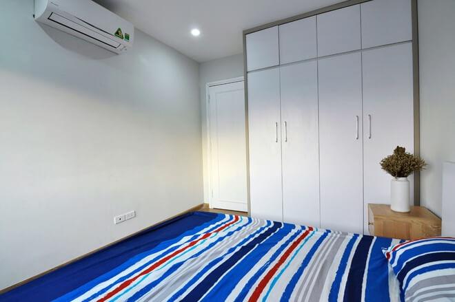 Tối ưu tủ chứa đồ tăng diện tích sử dụng phòng ngủ