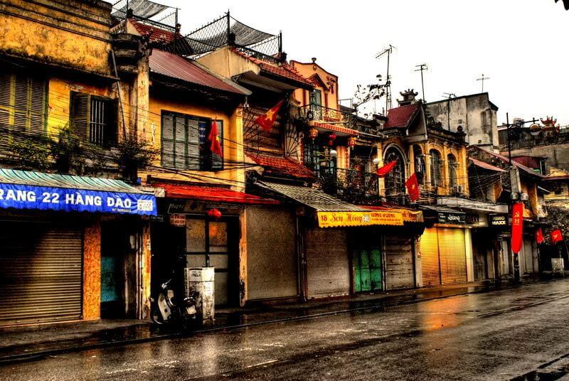 Dịch vụ cải tạo sơn lại nhà cũ tại phố cổ Hà Nội