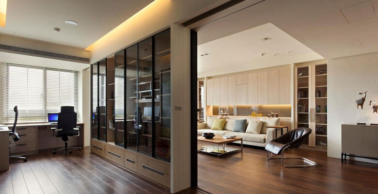 Cải tạo sửa chữa nhà là văn phong làm việc tại chung cư cao cấp