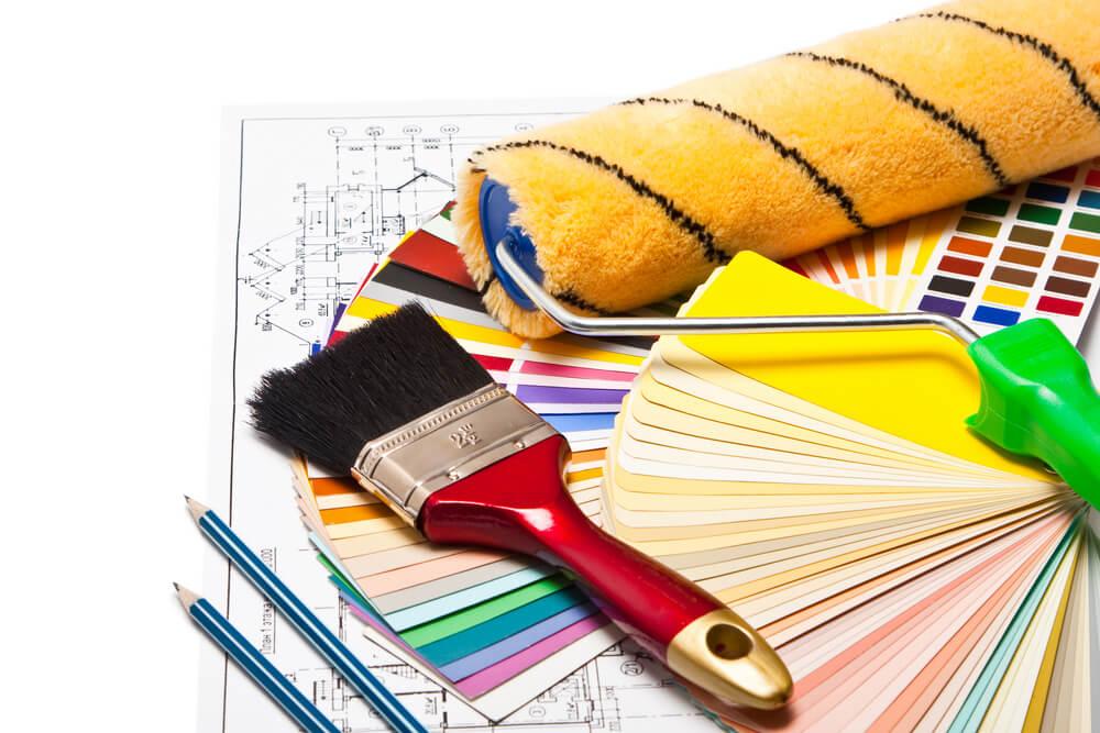 Dụng cụ tiêu hao trong quá trình sơn nhà trọn gói