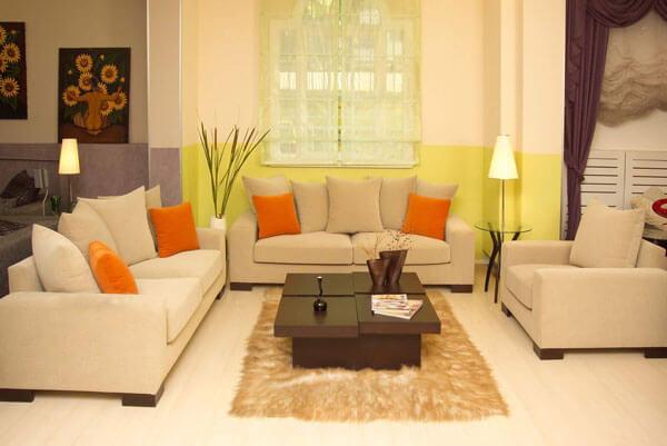 Sửa chữa phòng khách đẹp tiện nghi và sang trọng tại Hà Nội