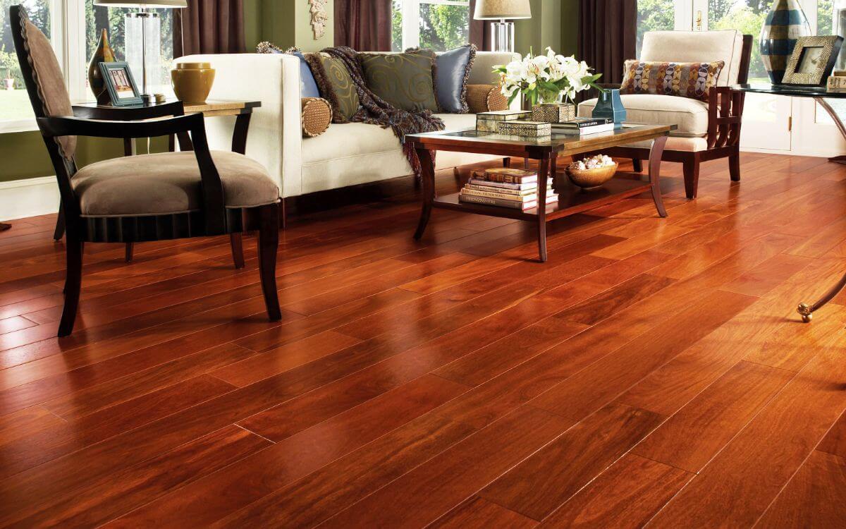 Sửa chữa sàn nhà bằng gỗ sang trọng