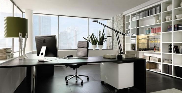 Sửa văn phòng làm việc đẹp với sơn và nội thất hiện đại