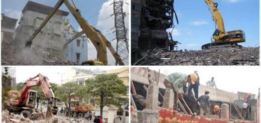 Tháo dỡ nhà cao tầng chuyên nghiệp