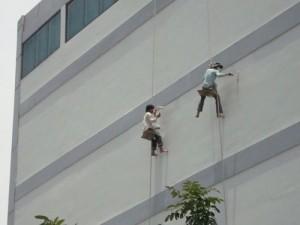 Dịch vụ sơn nhà cao tầng chuyên nghiệp
