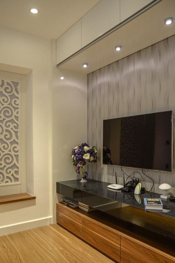 Đồ nội thất sử dụng vật liệu acrylic trắng đen hiện đại mà sang trọng