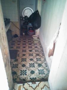 Khu nhà bếp xuống cấp và kém tiện nghi