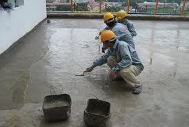 Láng bề mặt trần nhà sau khi xử lý xong vết nứt