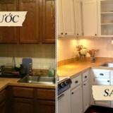 Mẫu phòng bếp trước và sau khi sửa chữa