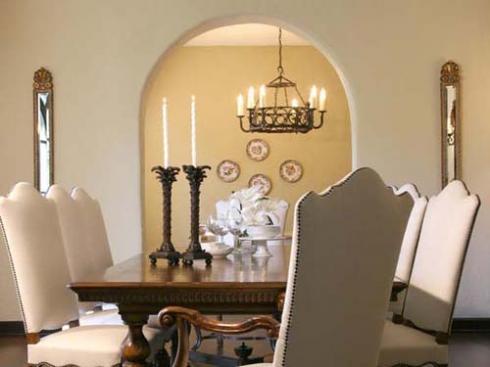 Phòng ăn độc đáo đẹp với phong cách hiện đại