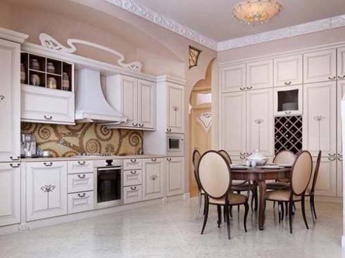 Phòng ăn mang phong cách sang trọng hiện đại