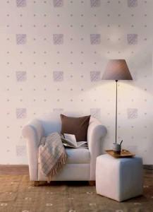 Sơn hoa văn trang trí tạo nét nổi bật cho căn phòng