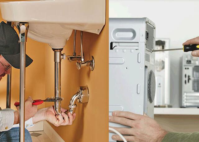 Sửa chữa điện nước trong khu đô thị chuyên nghiệp