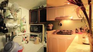 Sửa chữa không gian bếp của chung cư trở lên ấm cúng gọn gàng hơn