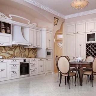 Sửa phòng ăn mang phong cách sang trọng hiện đại